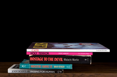 """Nina Katchadourian, 'Cats Holy Terror from """"Kansas Cut-Up"""" (""""Sorted Books"""" project, 1993--ongoing)', 2014"""