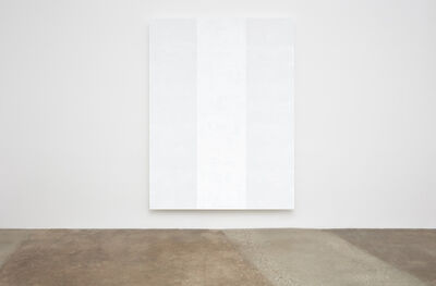 Mary Corse, 'Untitled (White Inner Band, Beveled)', 2019