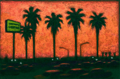 Jane Dickson, 'LA Lot Sunset', 2001