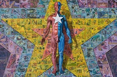 Ron English, 'All Star Dissect', 2009