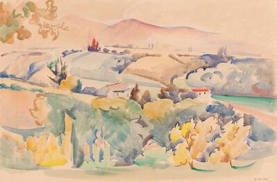 André Lhote, 'Paysage Panoramique', 1930-1935