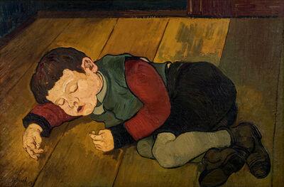 Josef Scharl, 'Schlafendes Kind', 1928