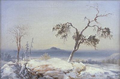 Peder Balke, 'Landscape from Finnmark', about 1860