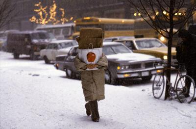Frank Horvat, 'Big Apple at X'mas time, NY, USA', 1984
