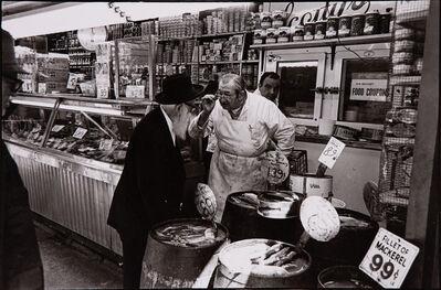 Bill Aron, 'Bartering at the Fish Market', 1976