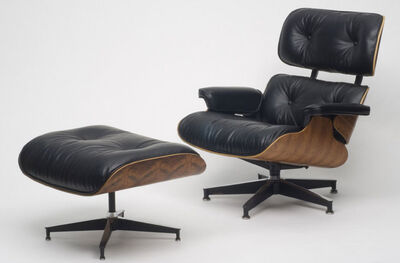 Charles Eames, 'Lounge Chair and Ottoman', 1956