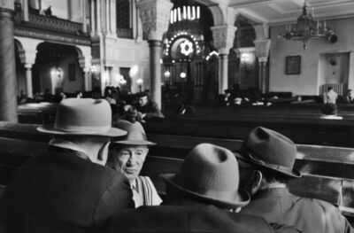 Henri Cartier-Bresson, 'Saturday In The Synagogue, Leningrad, Russia', 1973
