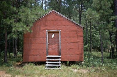 William Christenberry, 'Red Building in Forest, Hale County, Alabama,', 1994
