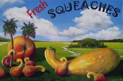 Bill Mead, 'Fresh Squeaches', 2006