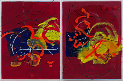 Danielle Frankenthal, 'Fuego, Diptych', 2020-2021