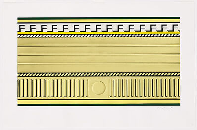 Roy Lichtenstein, 'Entablature III', 1976