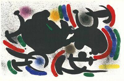 Joan Miró, 'Litografia Originale VII', 1972
