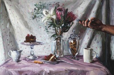 Alice Toich, 'Eating cake alone', 2016