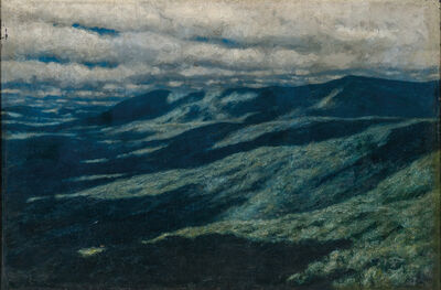Marcus Waterman, 'Mountains and Clouds, Vermont', ca. 1880s