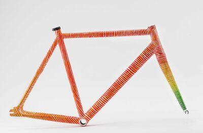 Andrew Schoultz, 'Cinelli Vigorelli bike frame ', 2020