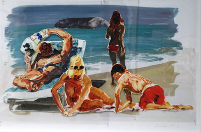 Eric Fischl, 'Untitled (Family)', 2017