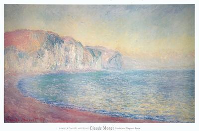 Claude Monet, 'Falaises a Pourville, Soleil Levant', 1992