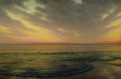 Alexander Harrison, 'Low Tide Brittany', ca. 1890