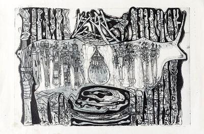 Bruce Onobrakpeya, 'Ame Evie Erlme', 1986