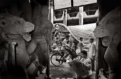 Raghu Rai, 'Preparing for Durga Pooja, Kolkata', 1999