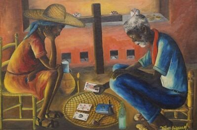 Wilson Bigaud, 'Fortune Teller ', 1955-1957