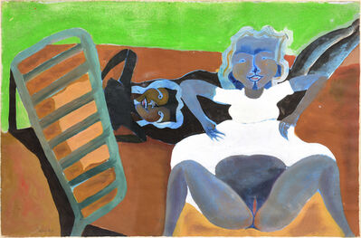"Francisco Toledo, '""Dos Mujeres""', 1968"