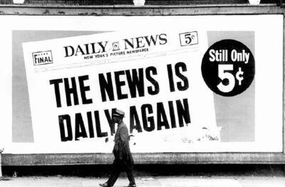 Dennis Hopper, 'News is Daily Again', 1960s