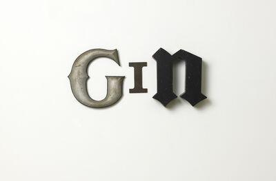 Jack Pierson, 'GIN', 2012