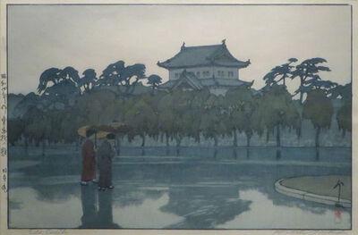 Yoshida Hiroshi, 'Edo Castle', 1929