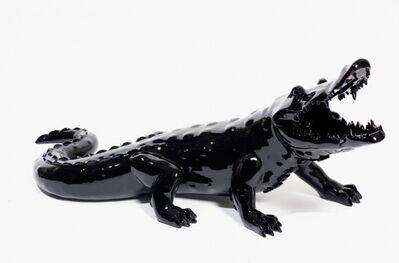 Richard Orlinski, 'Born Wild Crocodile (Black)', 2006