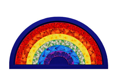 Damien Hirst, ''Butterfly Rainbow' Blue', 2020