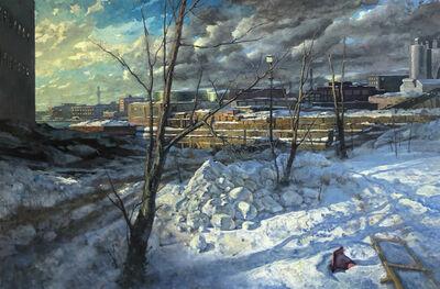 Derek Buckner, 'Gowanus, Winter', 2019