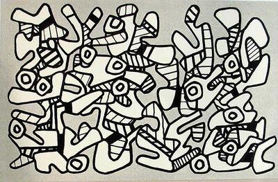 Jean Dubuffet, 'La Botte A Nique', 1973