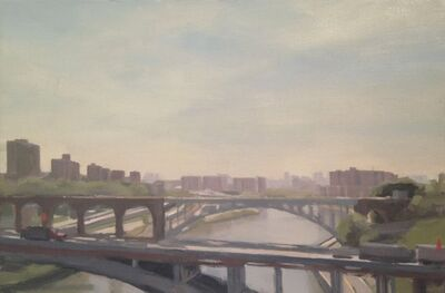 Diana Horowitz, 'East River and High Bridge', 2010