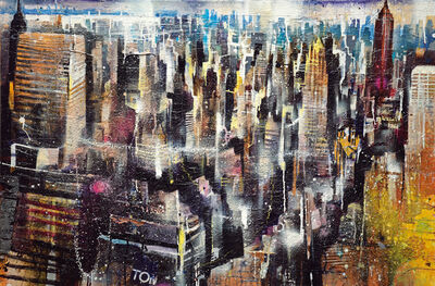 Bernhard Vogel, 'NY Midtown mit Empire State Building', 2015