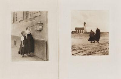 Alfred Stieglitz, 'Four Photogravures'