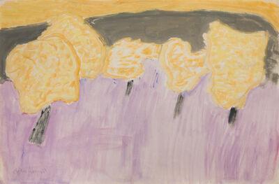 Milton Avery, 'Trees in Bloom', 1963