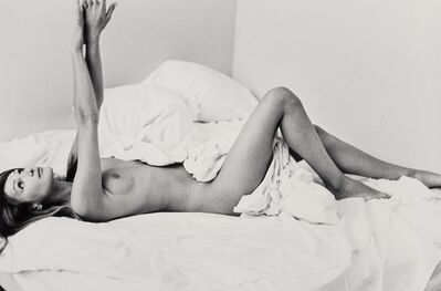 Pamela Hanson, 'Carla Bruni in Bed, Vogue Hommes', 1994
