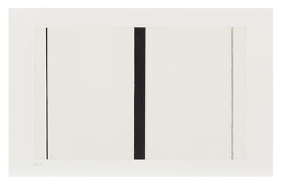 Barnett Newman, 'Untitled Etching 1', 1968