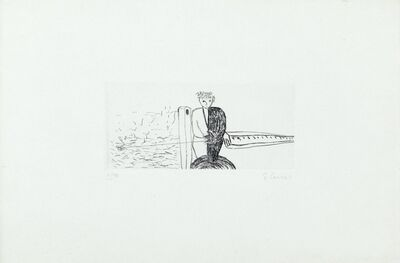 Enzo Cucchi, 'Lot of two works'