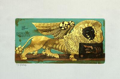 Gaetano Pompa, 'The Winged Lion', ca. 1980