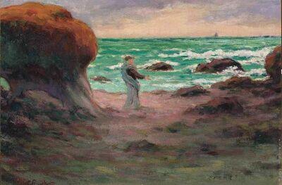 Claude Emile Schuffenecker, 'Au Bord de la Mer'