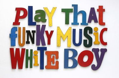 David Buckingham, 'Play That Funky Music White Boy', 2016