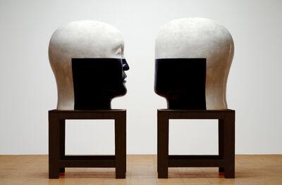 Jun Kaneko, 'Heads 03-11-14', 2003