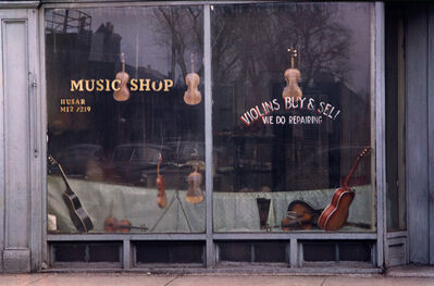 Harry Callahan, 'Music Shop', n.d.