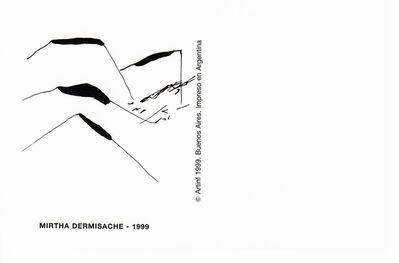 Mirtha Dermisache, 'Postal', 1999