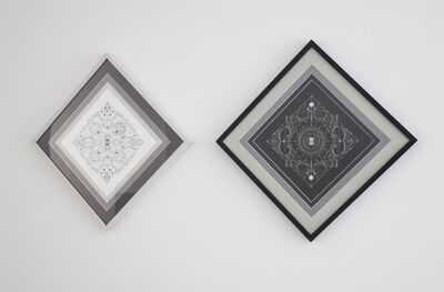 Leonardo Ulian, 'Technological Mandala 38 & 37', 2013