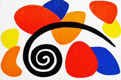 Alexander Calder, 'Big Contemporary', 1968