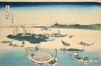 Katsushika Hokusai, 'Tsukudajima in Musashi Province', ca. 1830