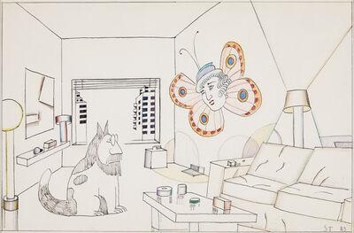 Saul Steinberg, 'Untitled', 1983